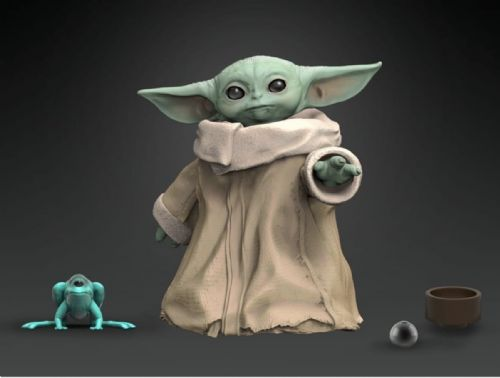 Star Wars The Black Series The Mandalorian Baby Yoda Action Figure - Pre-order